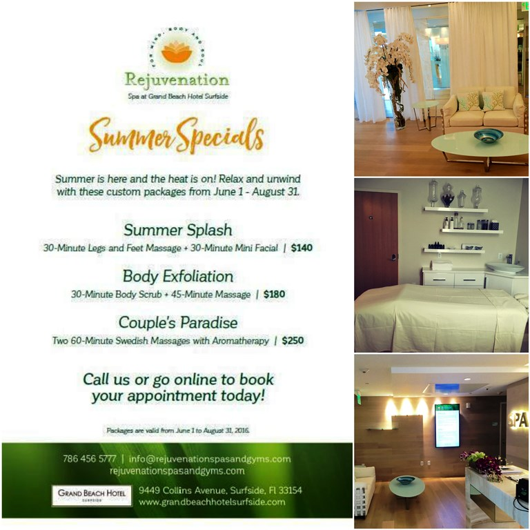 Grand Beach Hotel Spa Summer Specials